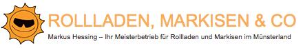 Markus Hessing – Ihr Meisterbetrieb für Rollladen und Markisen in Drensteinfurt im Kreis Warendorf und für das Münsterland.